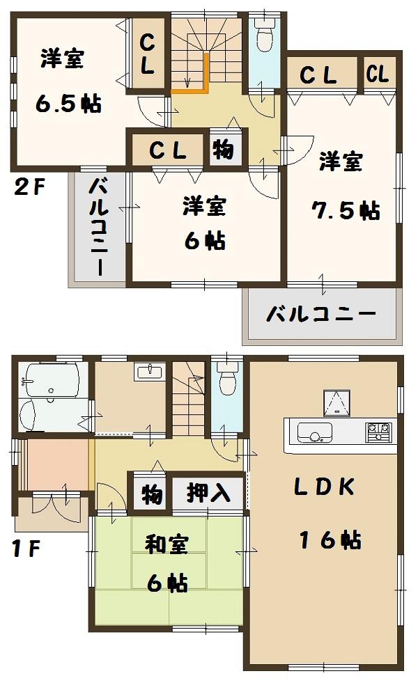 法隆寺 興留 2号棟 2780万円
