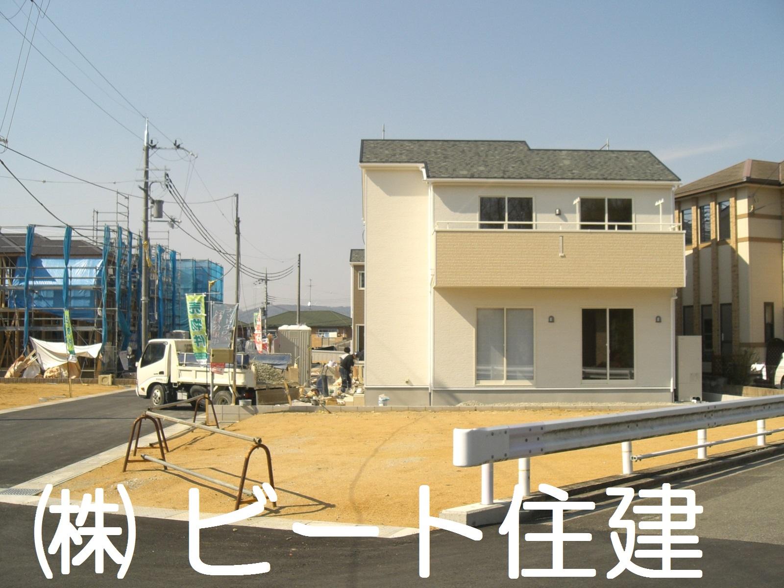 池部 新築 建物 間もなく完成です。
