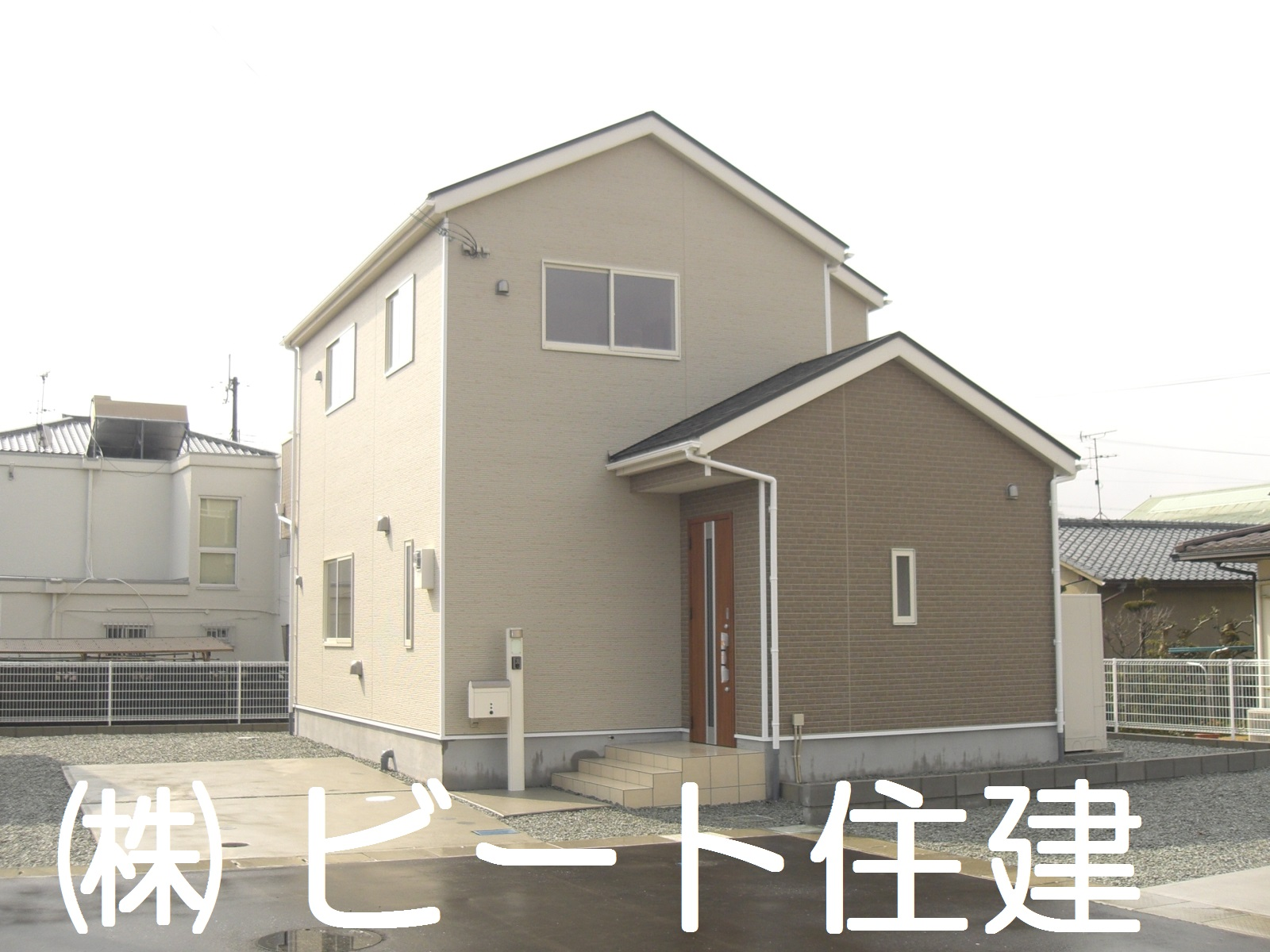 新築 4LDK オール電化 住宅
