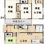 広陵町 中 新築 4号棟 1890万円(間取)