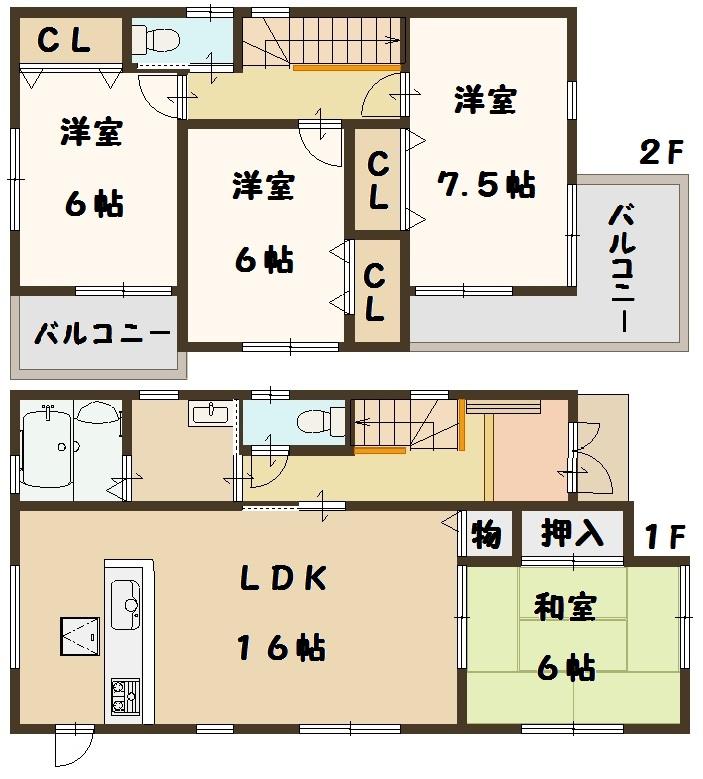 二階堂上ノ庄町 新築 建物 ファースト住建