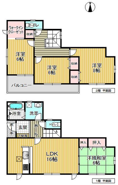 龍田南 新築 5号棟 2280万円