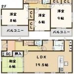 葛城市 東室 新築 4号棟 2790万円