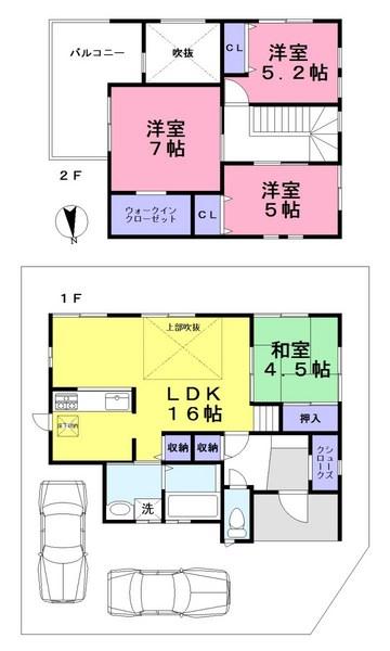 三室 新築 角地 限定1棟 好評分譲中