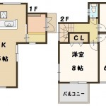 香芝市 下田東 1号棟 2280万円(間取)