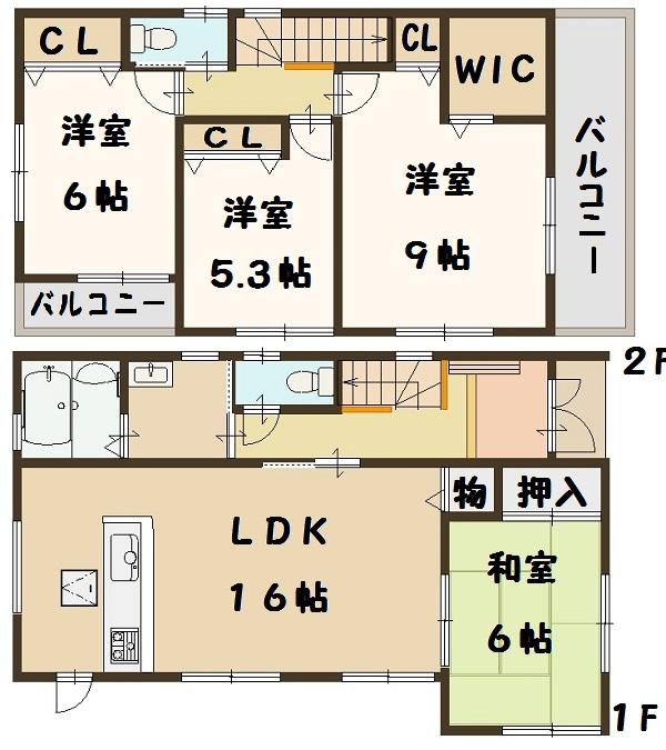 香芝市 下田東 5号棟 2480万円