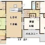 斑鳩町 法隆寺東 新築 1号棟 間取り図面