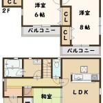 大和郡山市 柳 4丁目 新築 全3棟 1号棟 大幅値下がり!