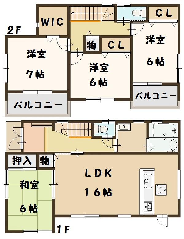 田原本町 小阪 新築 2号棟 建物 ファースト住建 大幅値引き頑張ります!