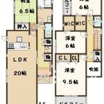 三宅町 伴堂 新築 全7棟 1号棟 建物 高級仕様 仲介手数料 最大無料!
