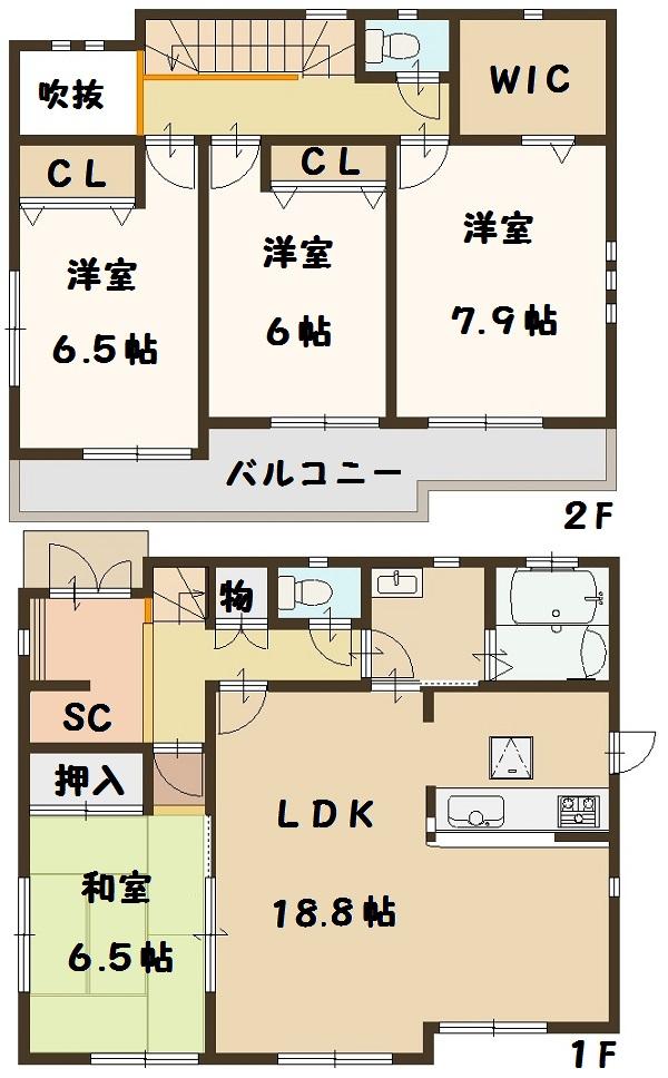 河合町 穴闇 新築 10号棟 大幅値下げ頑張ります。