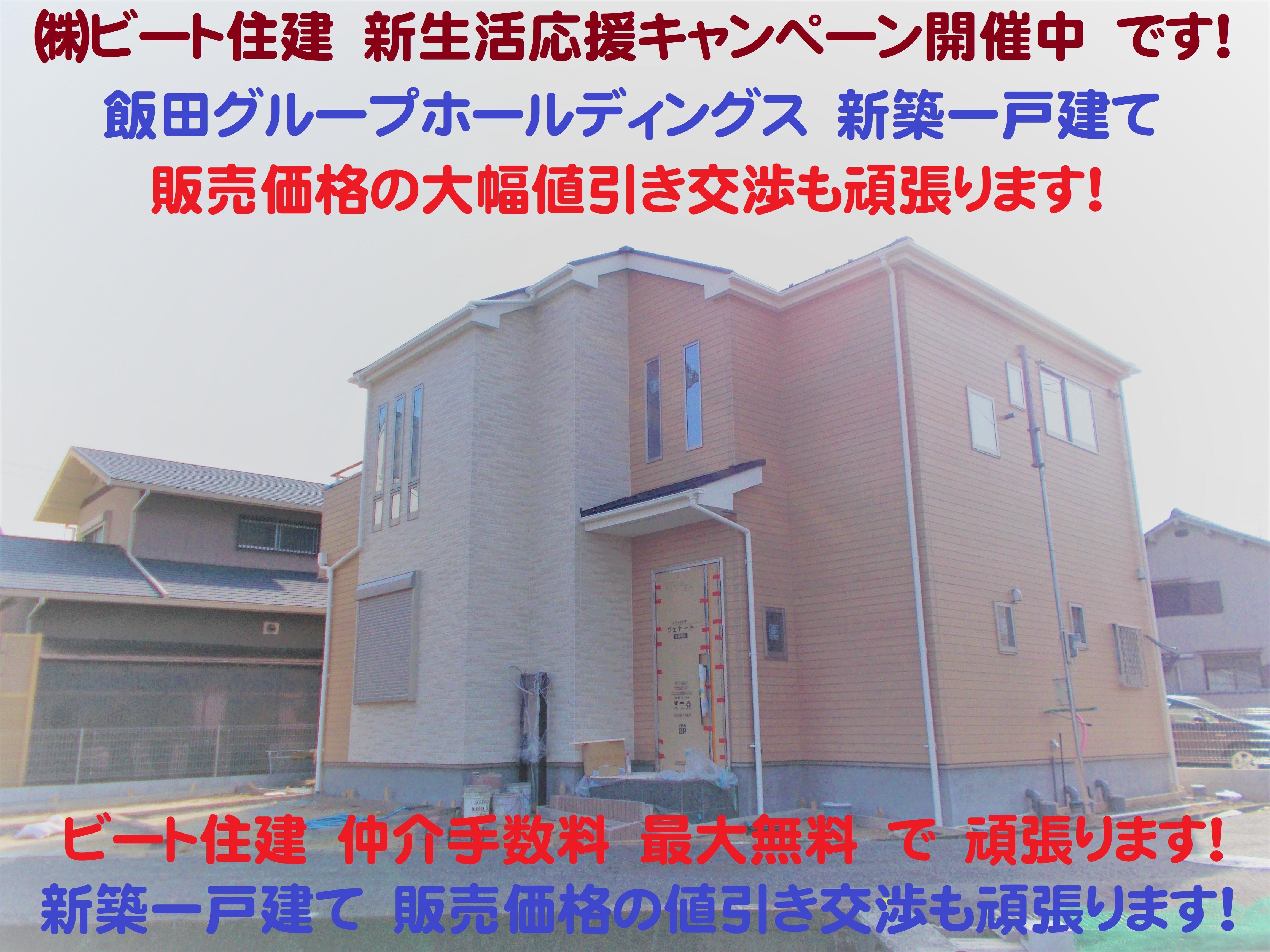 建物 飯田グループホールディングス タクトホーム 新築 お買い得 仲介手数料 大幅値引き ビート住建