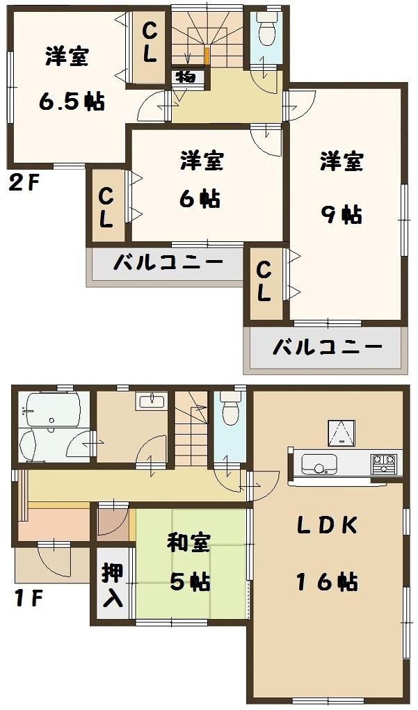 大和高田市 大東町 新築 5号棟 大幅値引き頑張ります!