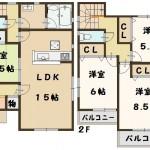 大和高田市 大東町 新築 4号棟 大幅値引き頑張ります!