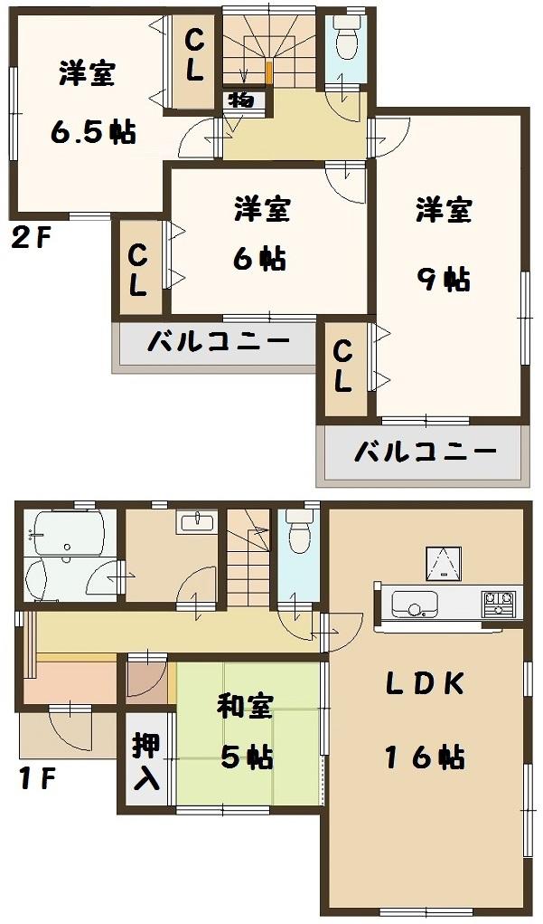 大和高田市 大東町 新築 2号棟 大幅値引き頑張ります!