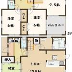 上牧町 桜ケ丘 新築 限定1棟 飯田グループホールディングス 一建設