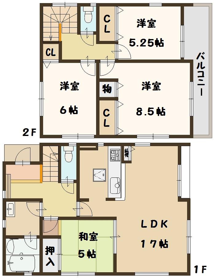 5号棟 間取り図面 奈良県